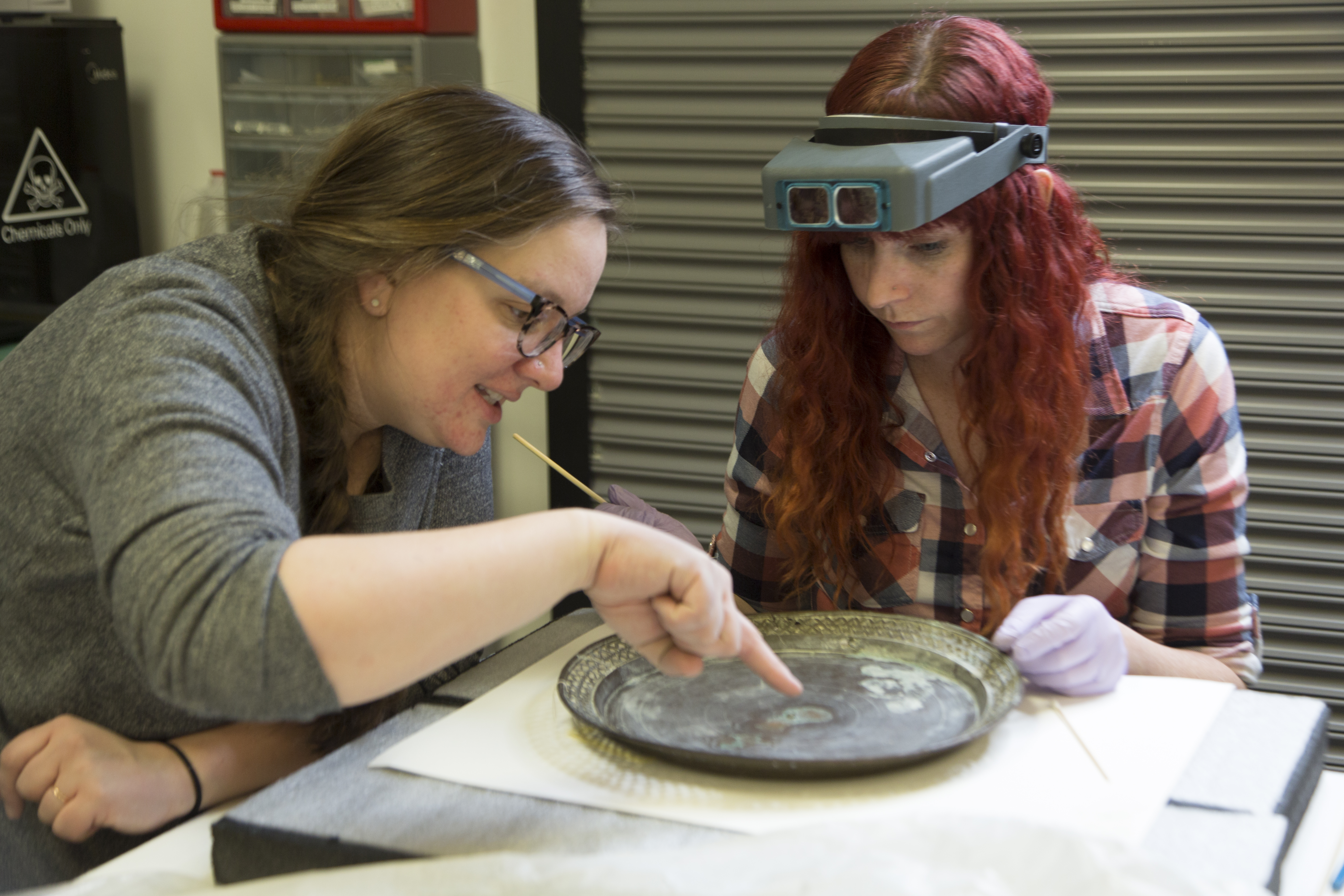 Generous Grant Protects Metal Objects | The Utah Museum of Fine Arts