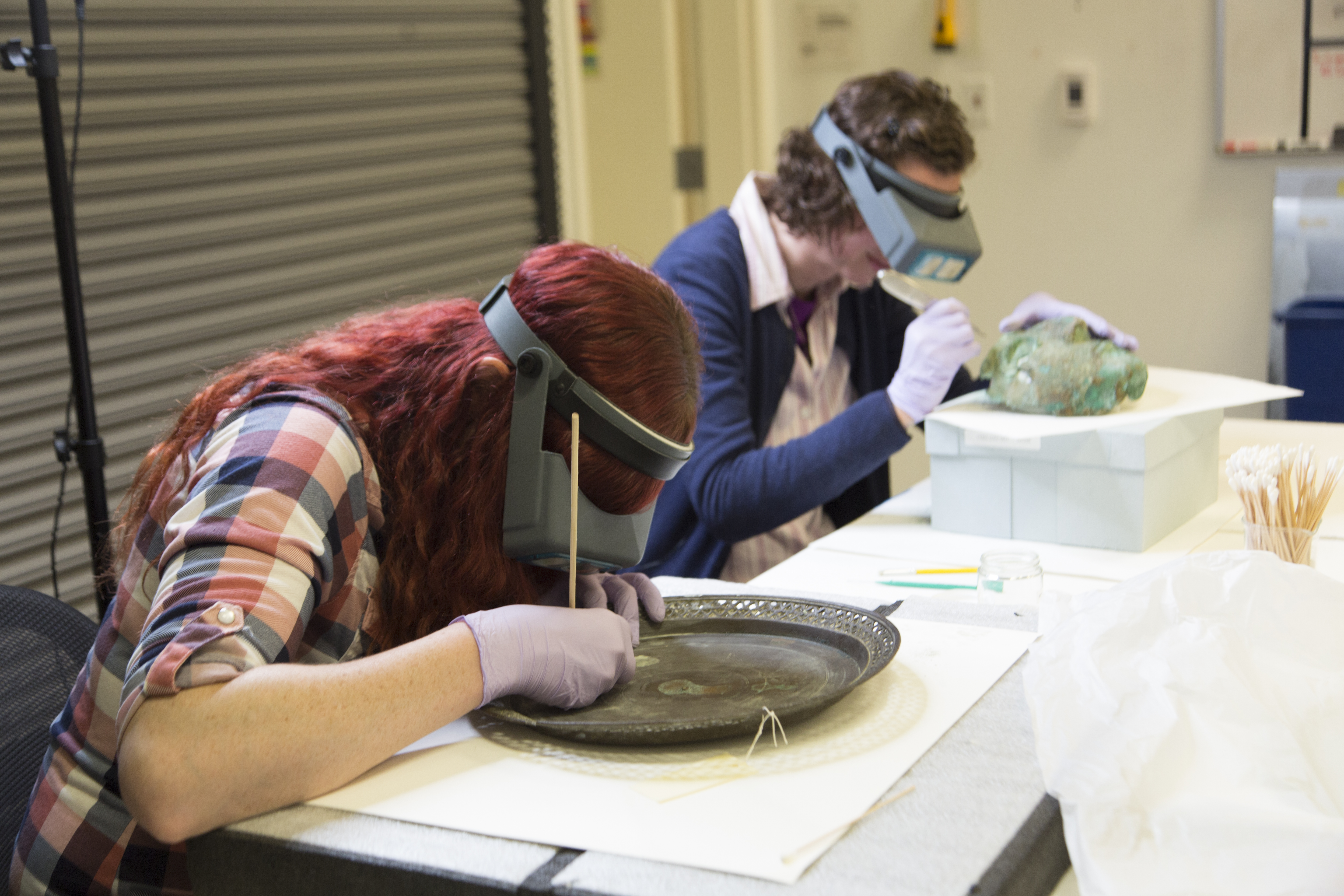 Generous Grant Protects Metal Objects | The Utah Museum of