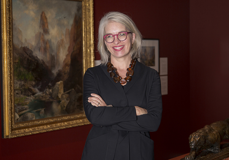 Gretchen Dietrich Executive Director of UMFA and New Art Bridges Board Member