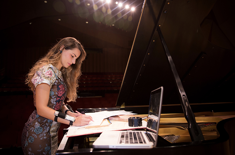 Elisabet Curbelo, University of Utah School of Music assistant professor and head of composition