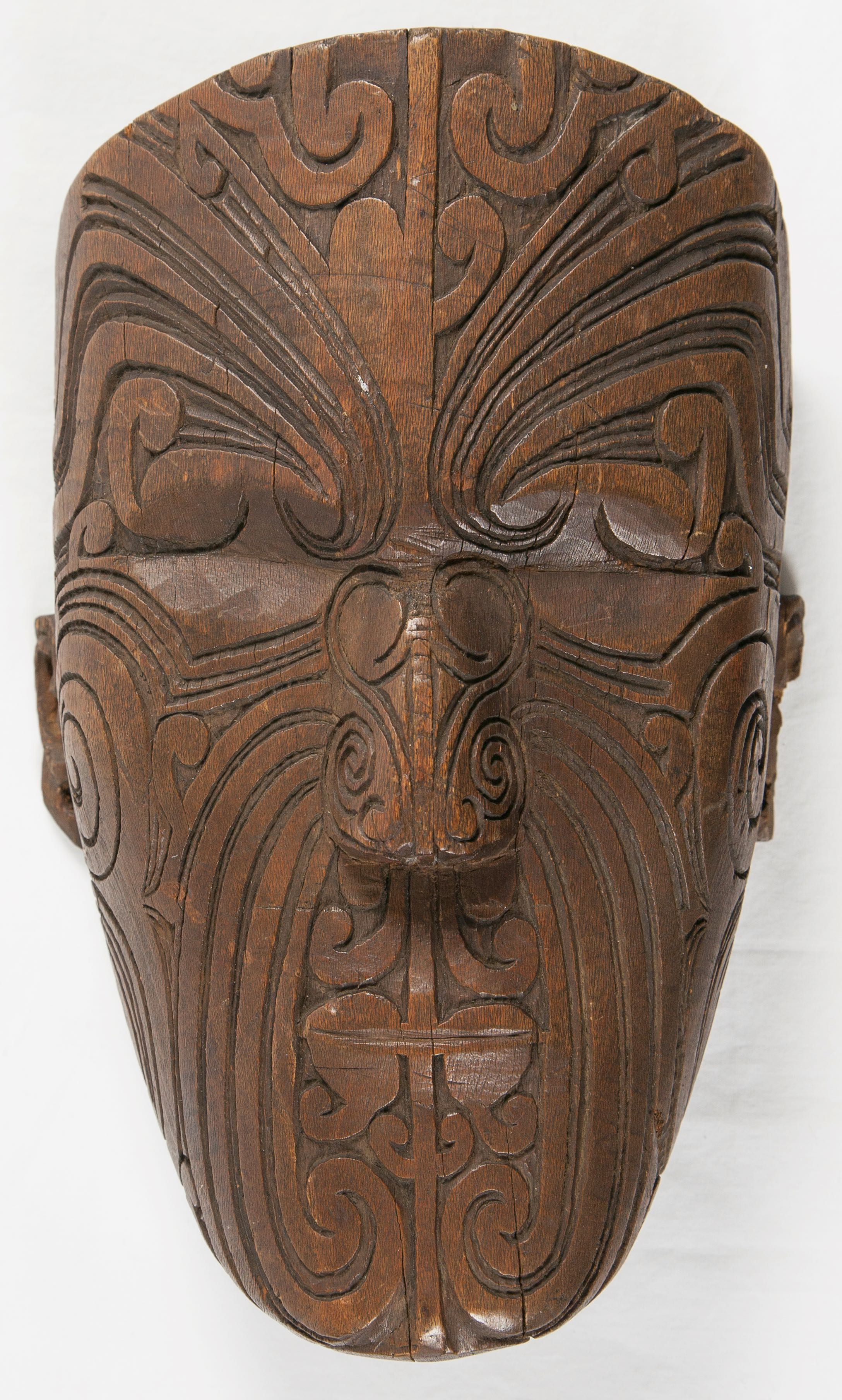 Maori Carved Head, Arts of the Pacific