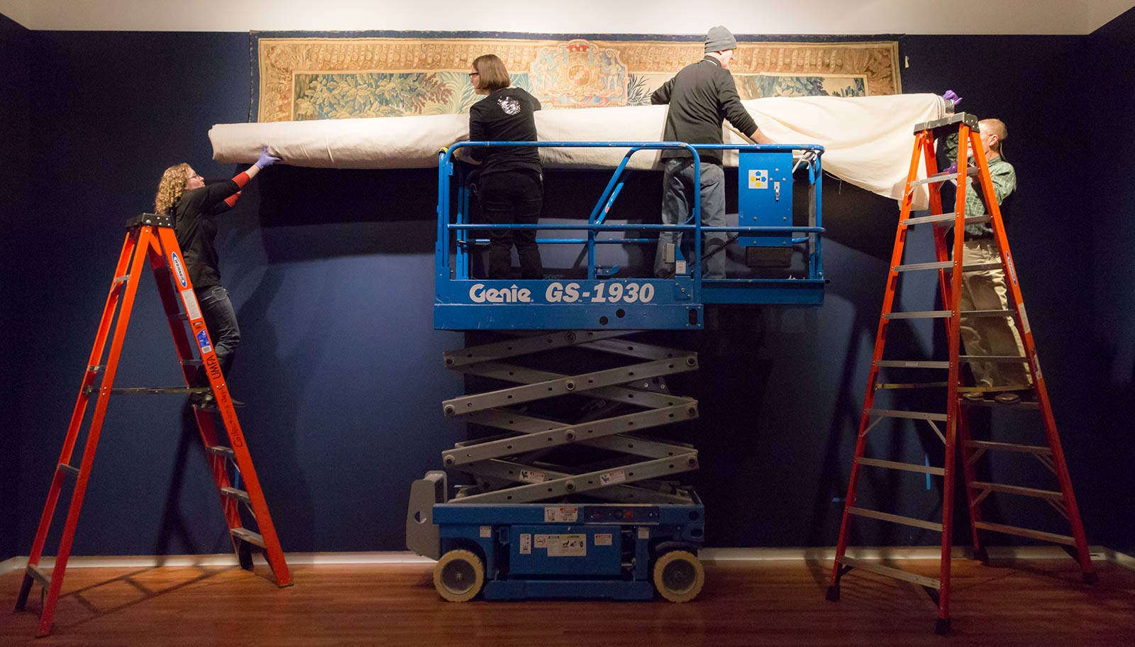 Installation of French Tapestry, UMFA1951.101