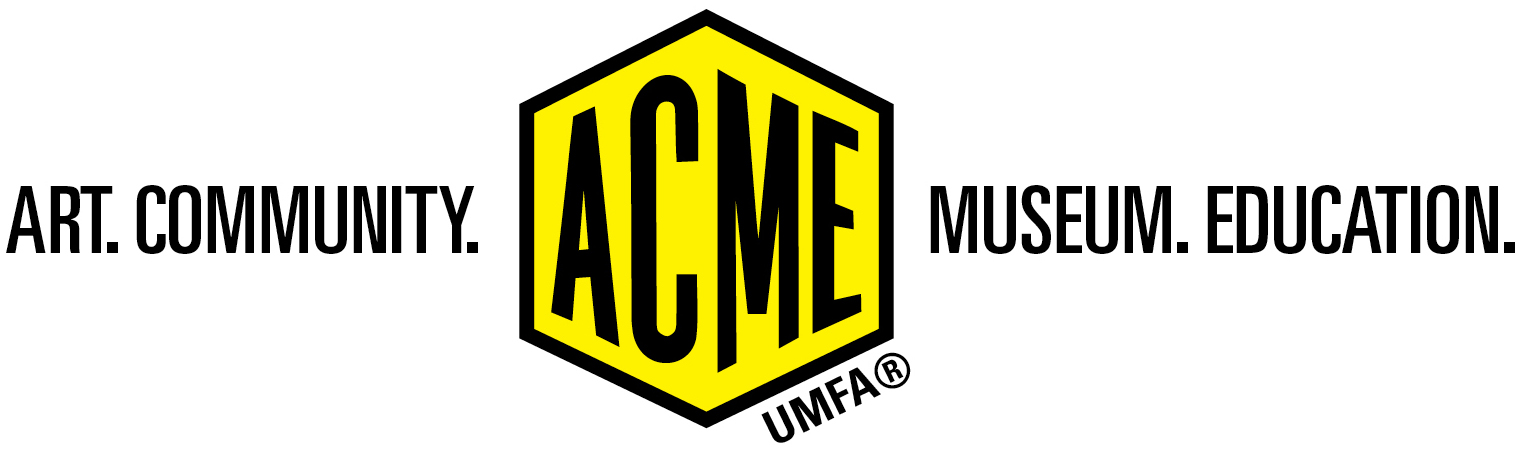 acme logo. education.) is a twofold outreach initiative dedicated to rethinking the public role of museums. acme sessions and lab are designed transform how acme logo