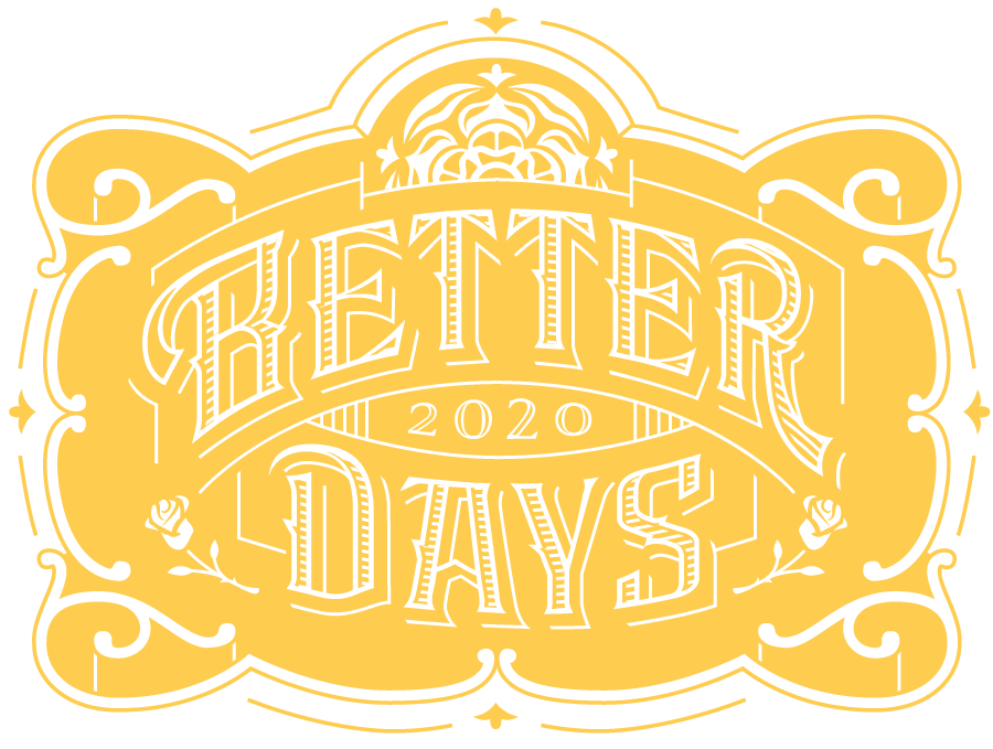 Better Days 2020 logo yellow