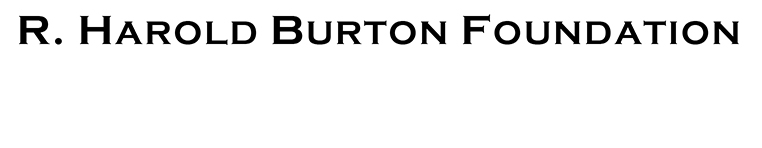 Burton Foundation logo