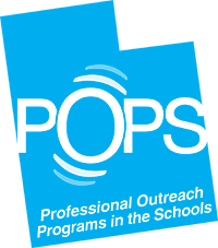 POPS Professional Outreach Programs in the Schools logo