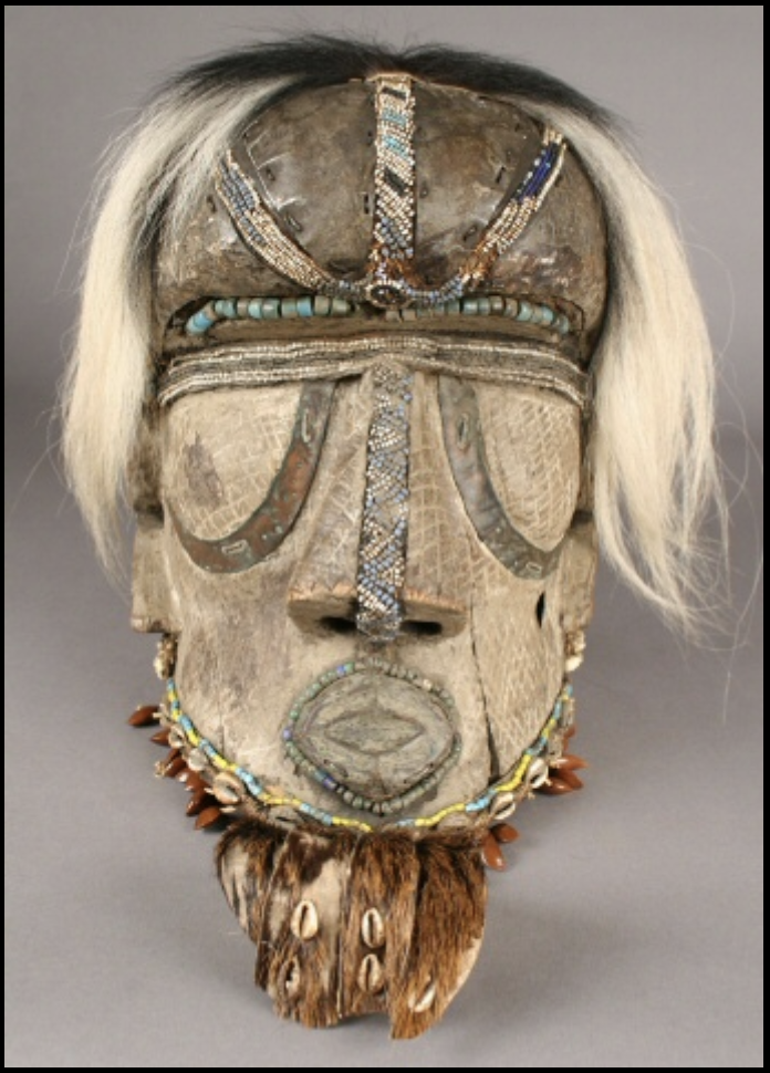 Bwoom mask, Democratic Republic of the Congo