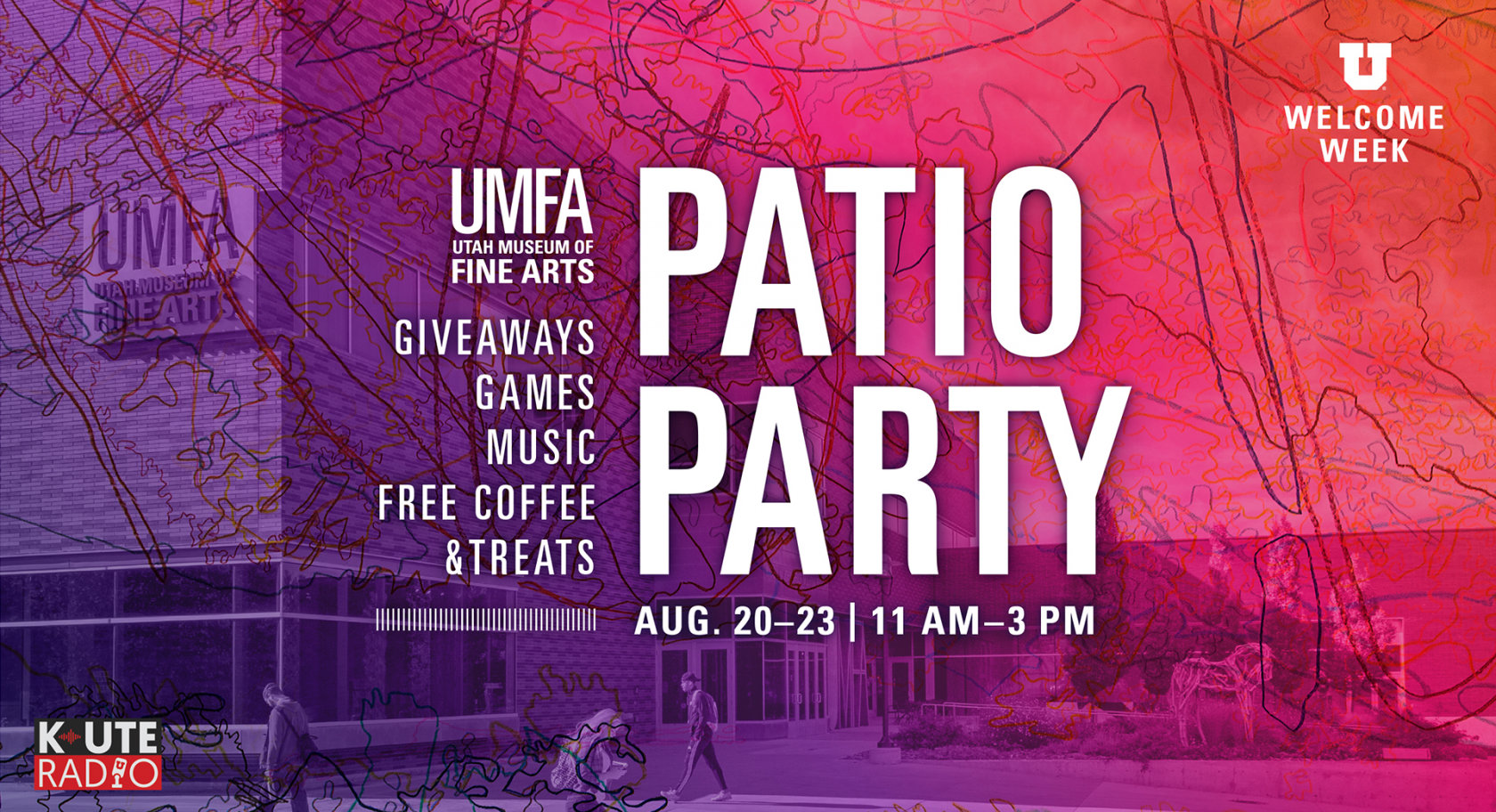 patio party info