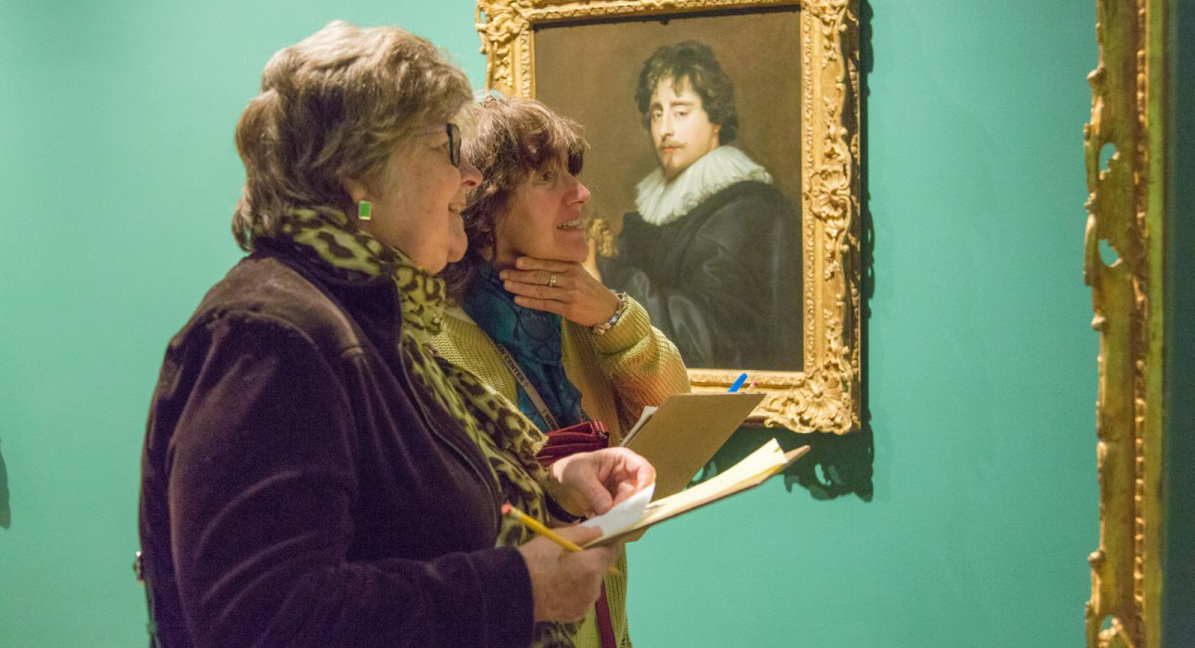 Docents in Galleries