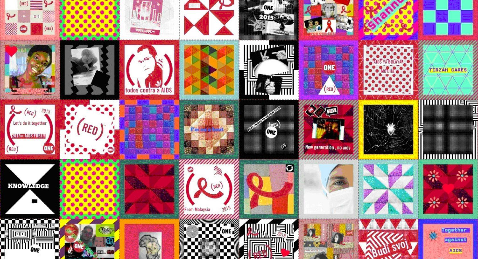 Open Studio: Day With(out) Art - AIDs Quilt