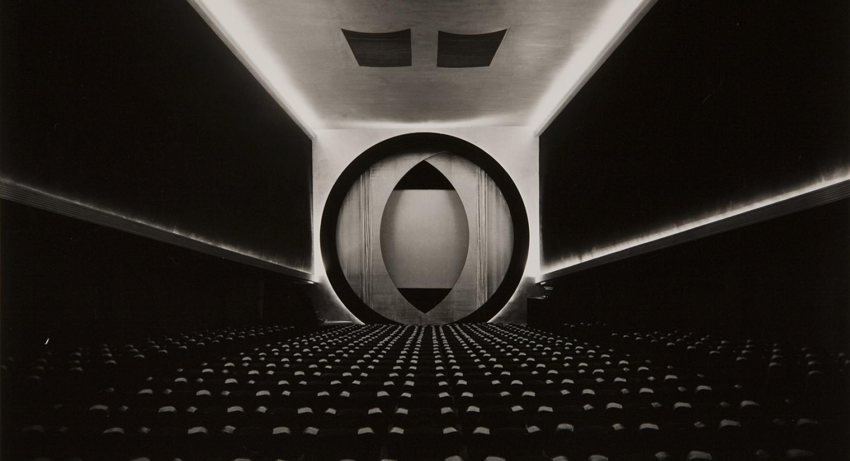 Ruth Bernhard, Eighth Street Movie Theater, gelatin silver print,  1946