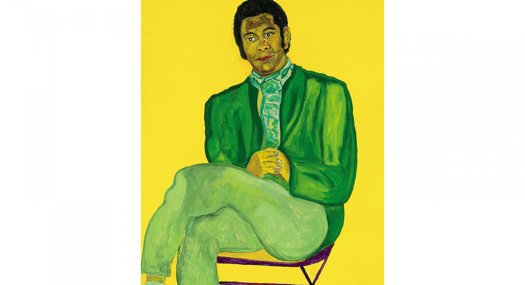 Beauford Delaney, Portrait of a Young Musician, 1970