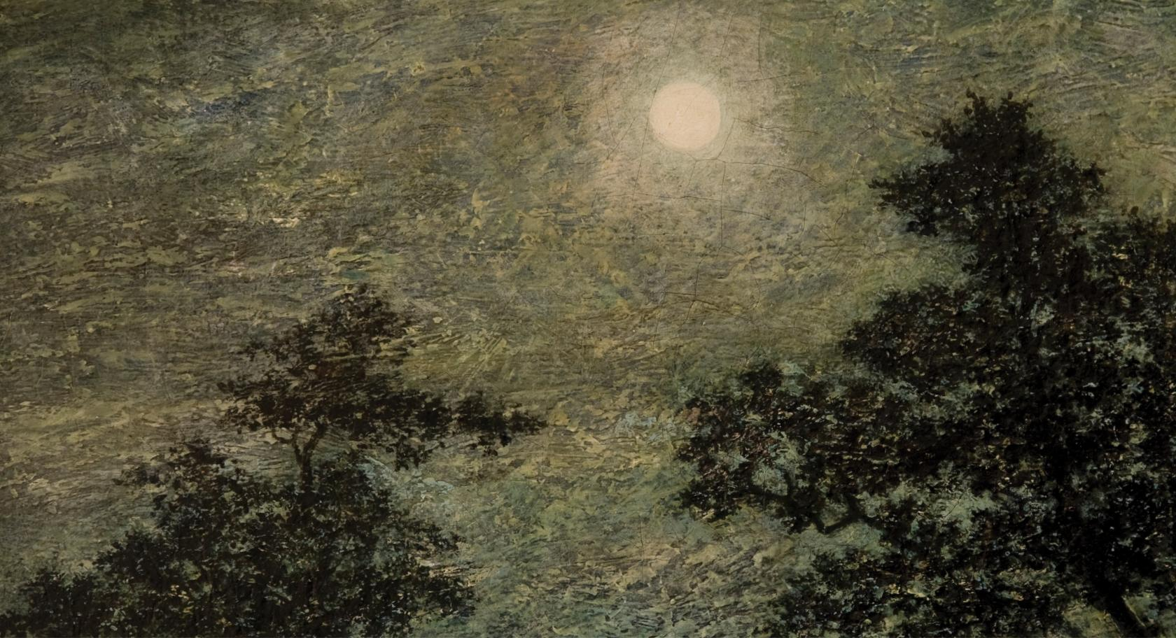 Ralph Albert Blakelock, Silvery Night, late 19th century