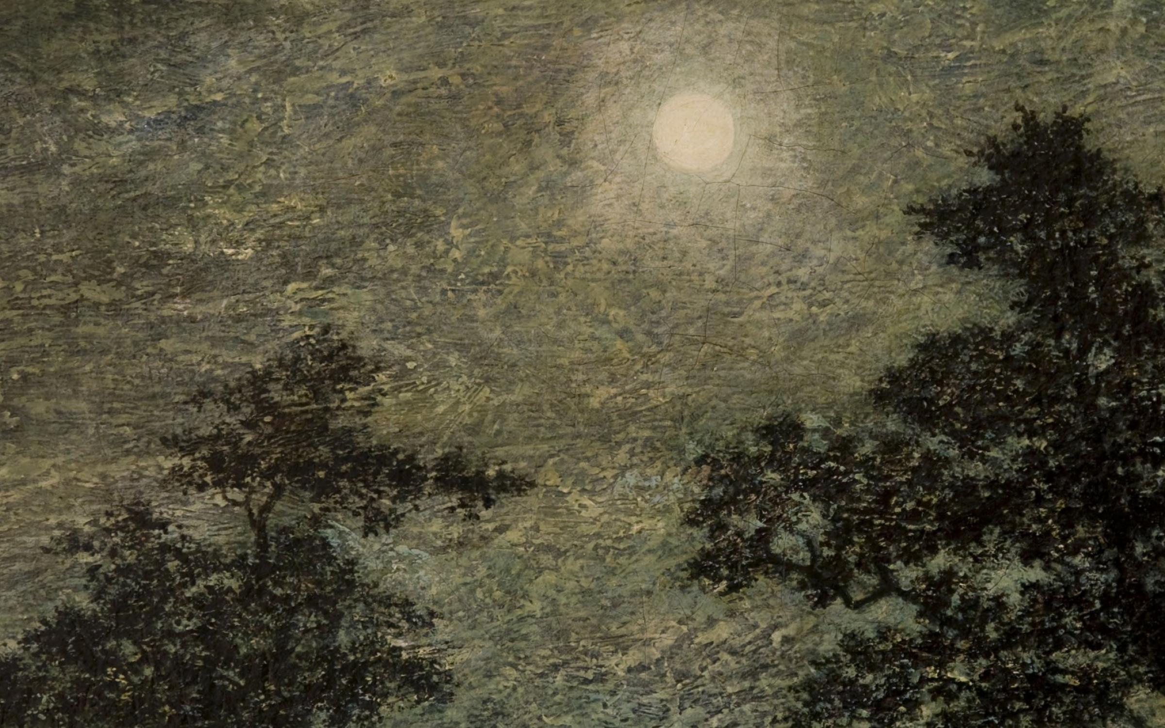 Silvery Night by Ralph Albert Blakelock