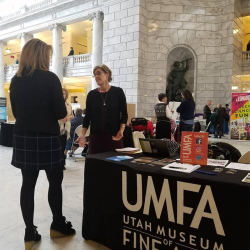 UMFA tabling at the State Capitol